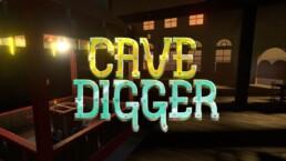 Cave Digger VR-peli alkaa mysteerisestä saluunasta.